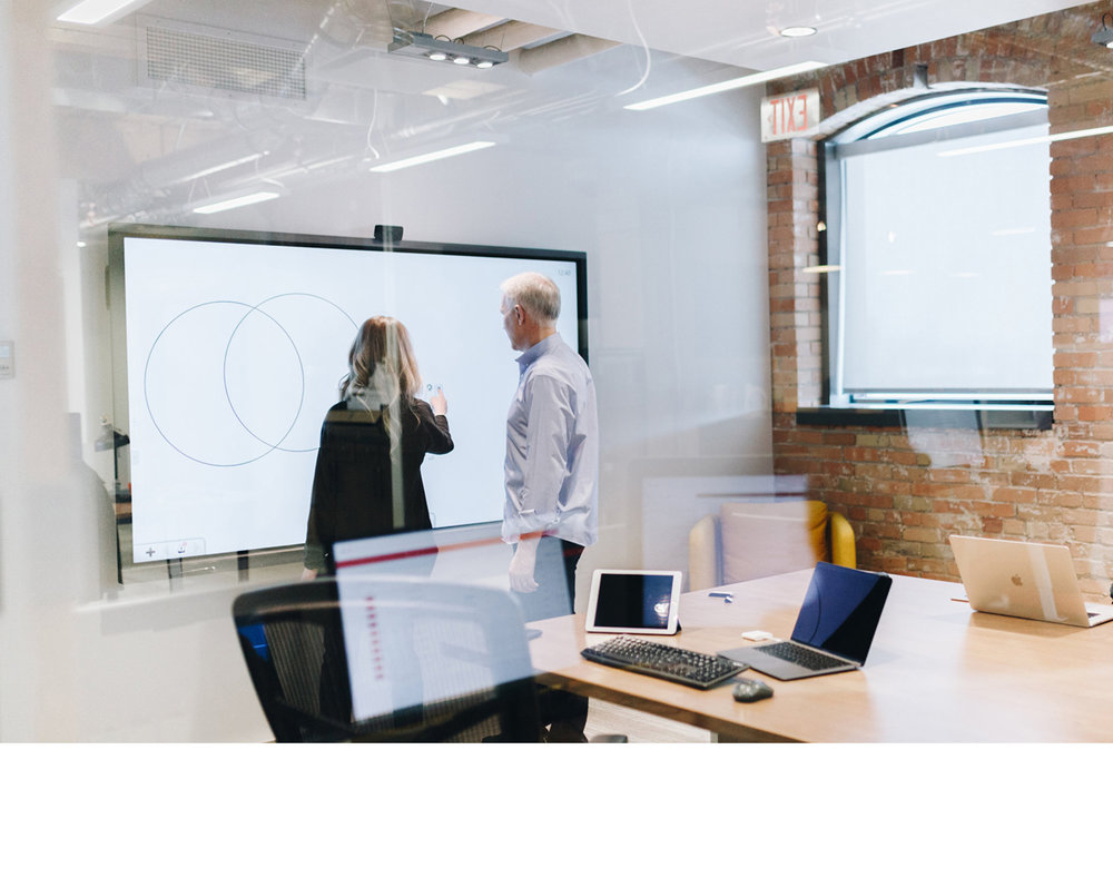 Productivity & Learning - Whiteboarding, wireless screensharing, remote management, and more – we include software that is designed to work seamlessly with our displays.