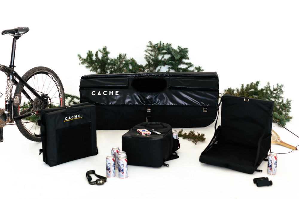 Cache is An Outdoor Product - This versatile truck bed serves many functional purposes.
