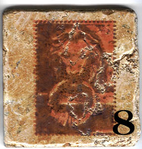 11.  Lion Images from Stamp Sheet 29b