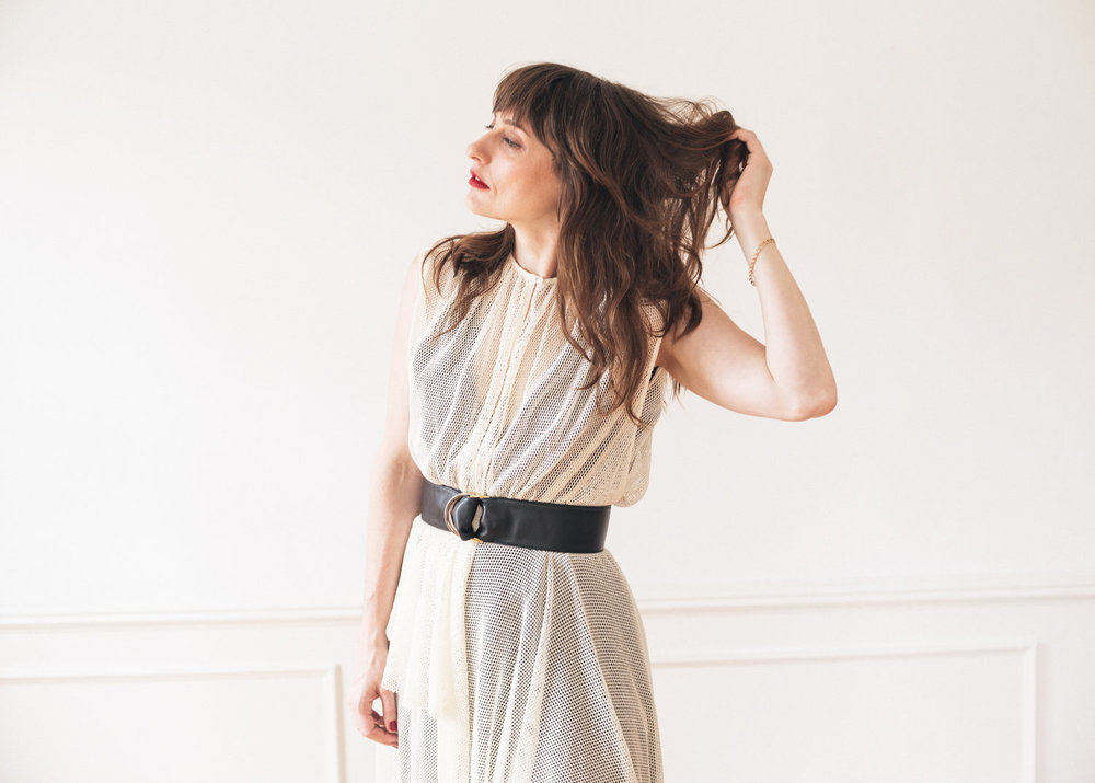 I bought this Rachel Comey dress and Cartier belt after much consideration.