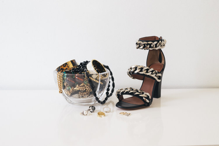 For a price, a pair of Givenchy shoes will let you walk through your own life in high glamour.