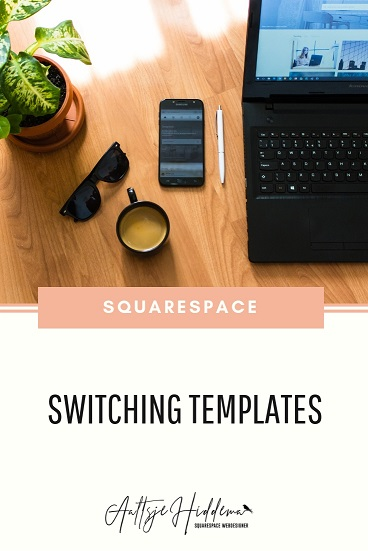 switching templates