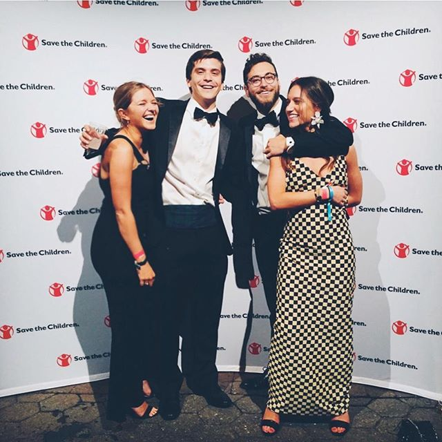 Reasons to buy a ticket to the Second Annual Save the Children Young Patrons Gala: 1. 100% of your ticket purchase helps to put refugee children back into an educational system within 30 days of being displaced!! 2. Getting dressed up and getting down to some live music is always a PLUS 3. Look how happy these 4 look! That could be you!! 4. Seriously, you're changing the world! During an emergency, education is typically the first service interrupted and the last restored. Imagine all the opportunities your ticket purchase can provide for a child who currently being denied an education at no fault of their own! So buy your ticket (link in bio and only a short time left for tickets at this early bird price!) and let's change the world together and have an amazing evening on May 18th!!!!