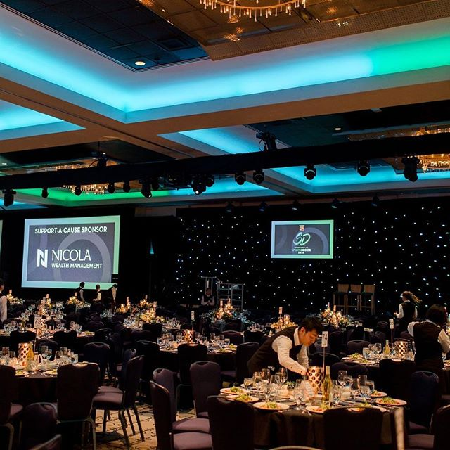 The @hyattvancouver puts on an amazing event, which is why we keep going back year after year. Thank you for being such fantastic hosts of the #jccsportsdinner !