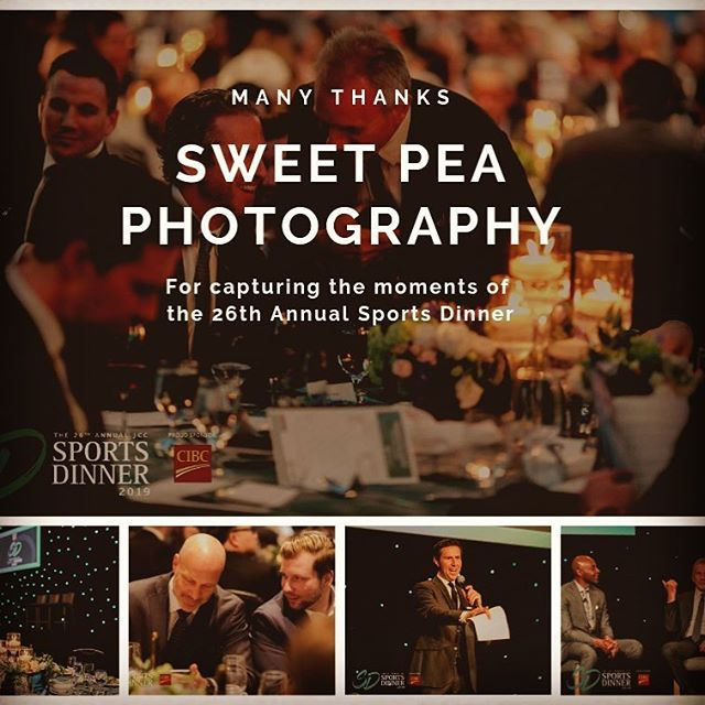 Where would we be without our In-Kind donors for #jccsportsdinner !  A huge thank you to @sweetpea_miles for capturing all the special moments of the evening.  We hope everyone has enjoyed re-living the event with all the images we have been sharing!  #grateful