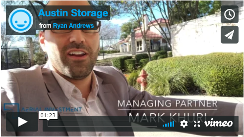 austin self storage investment