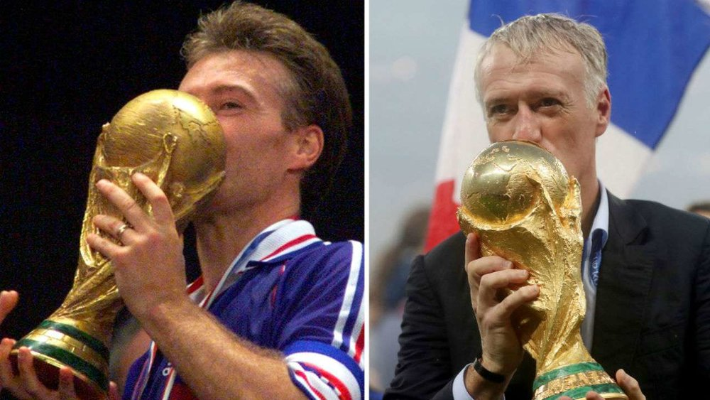 QUESTION 1 | Current Events - After winning the 2018 World Cup, French manager Didier Deschamps became only the third person to accomplish what feat?