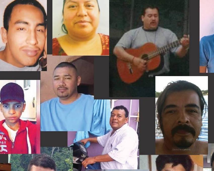 Nombres - Ve los nombres y fotos de personas desaparecidas cuyas familias piden que se recuerden.