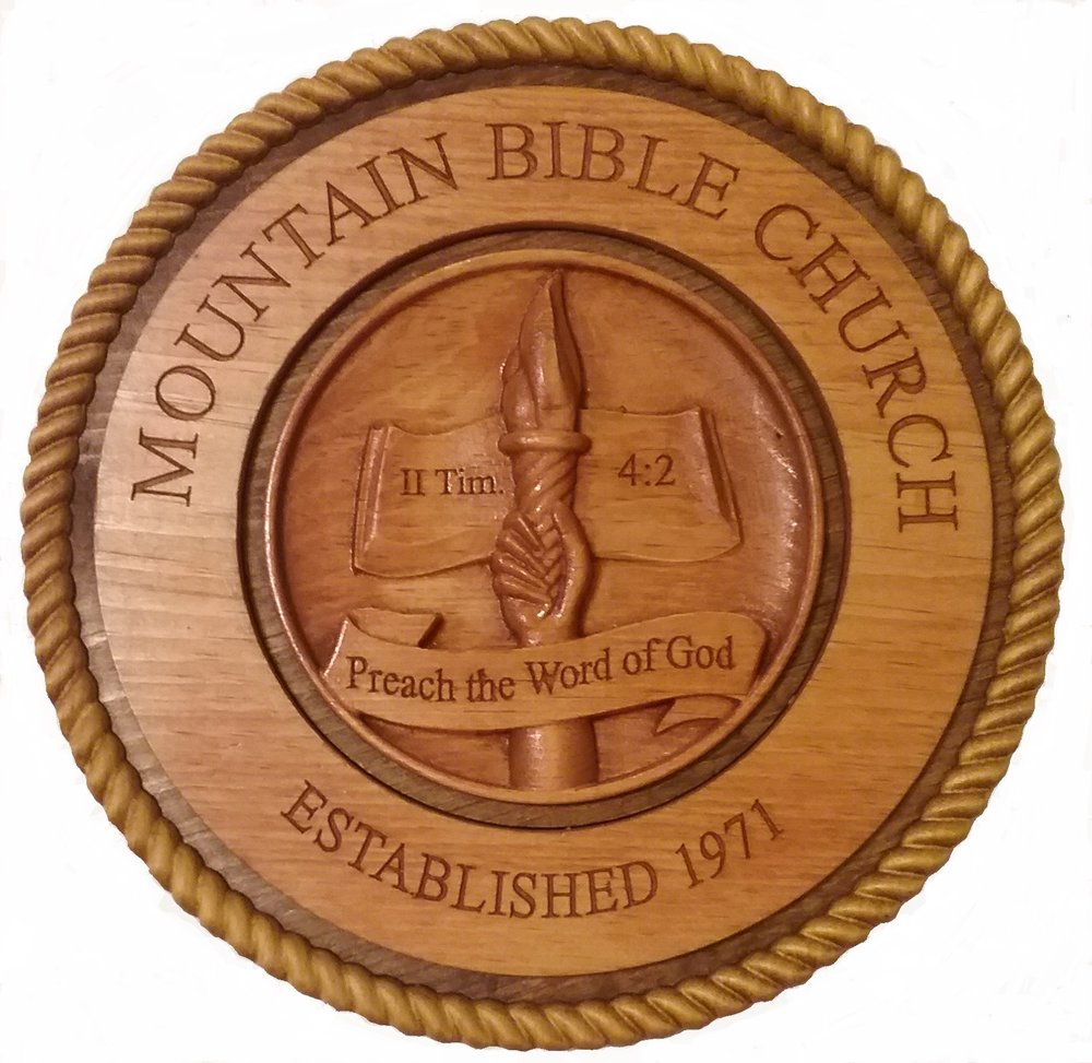 History of Mountain Bible Church - From humble beginnings back in 1971, Mountain Bible Church began as a small Bible study group lead by our Founding Pastor.