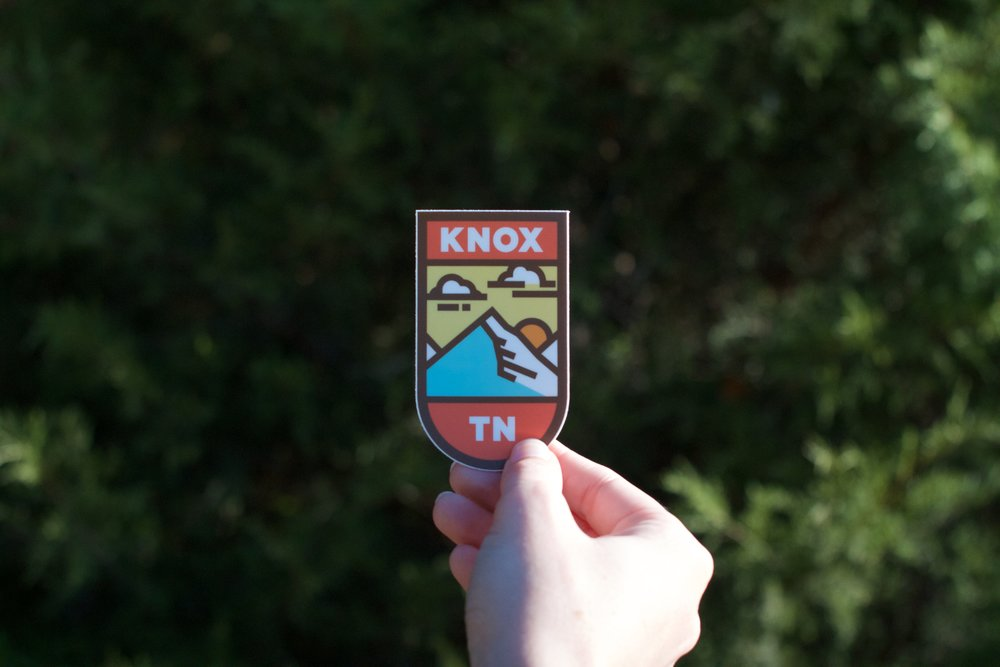 Knox TN Sticker