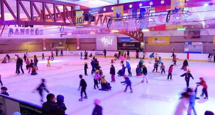 ICE SKATING -