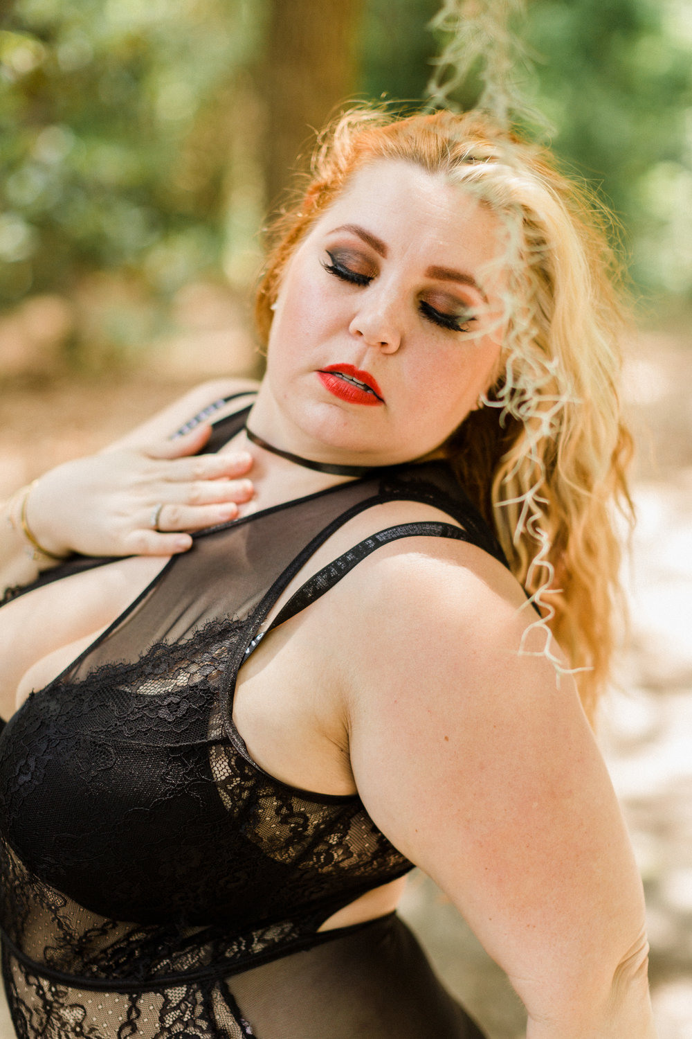 Body Positive Myrtle Beach Outdoor Boudoir Session 3