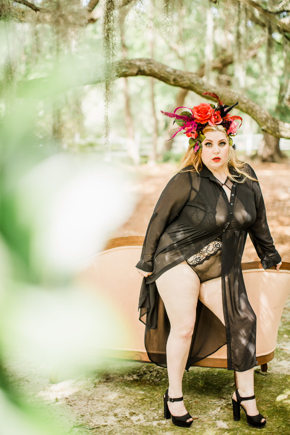 Body Positive Myrtle Beach Outdoor Boudoir Session 9