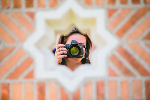 THE CAMERA - I am always framing what is in front of me for the perfect photo…