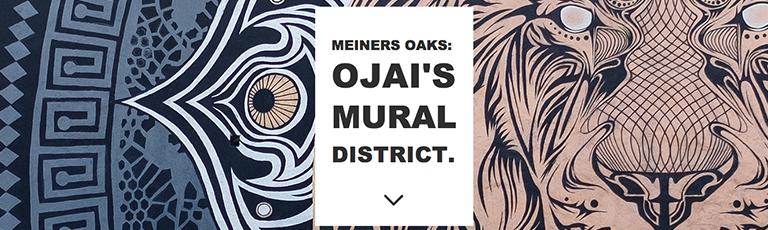 Meiners Oaks: Ojai's Mural District
