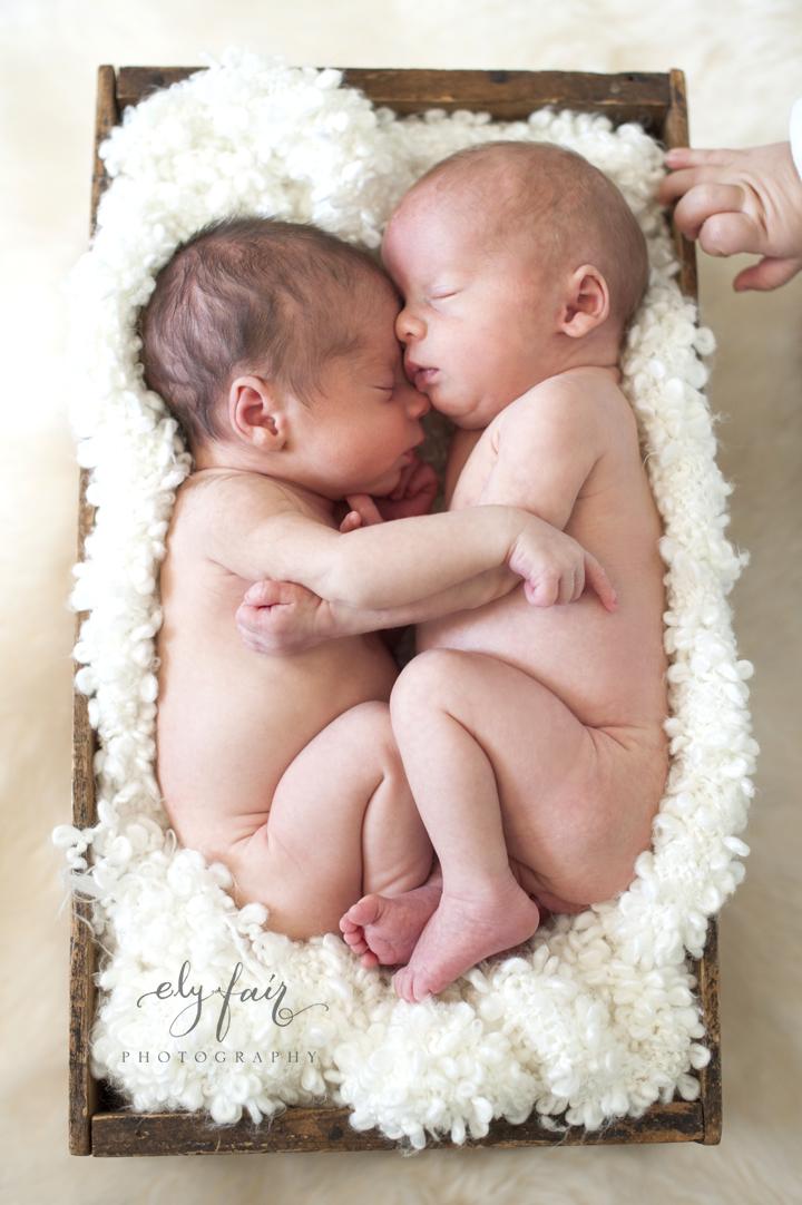 Ely Fair Photography, Newborn Twins