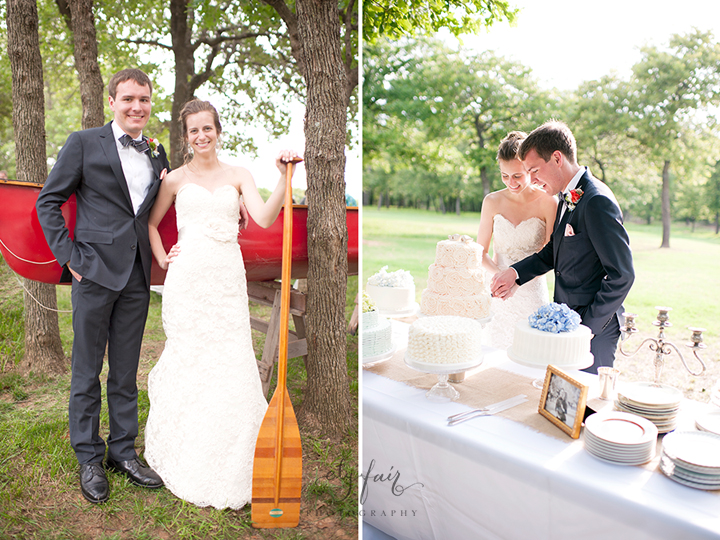 Oklahoma Backyard Wedding, Ely Fair Photography