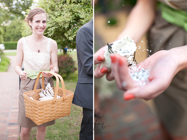 biodegradable wedding toss