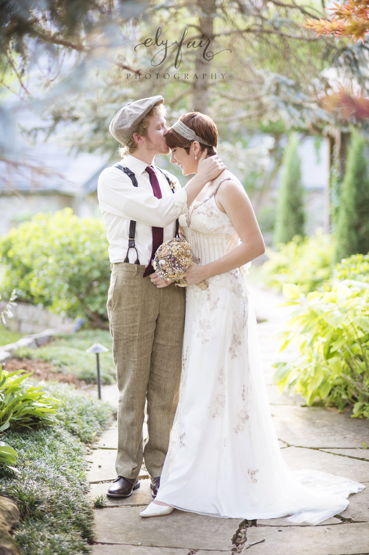 circus themed wedding, Claire Pettibone Dress