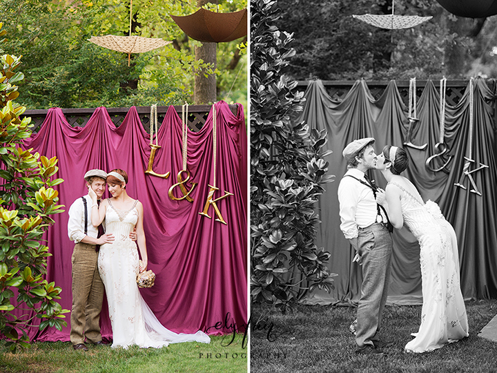 circus themed wedding, Claire Pettibone Dres