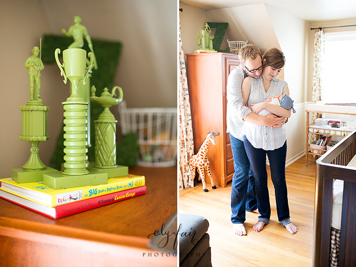 green trophies, Oklahoma Newborn Photography