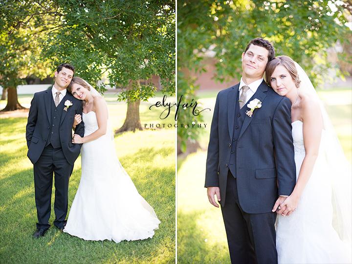 OKC Bride and Groom