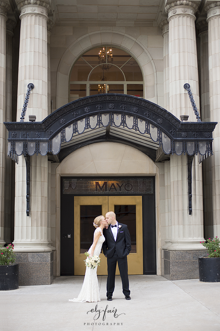 Oklahoma Wedding, Ely Fair Photography, Mayo Hotel