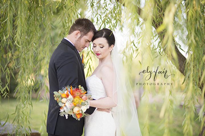 Oklahoma Wedding, Ely Fair Photography, colorful flowers