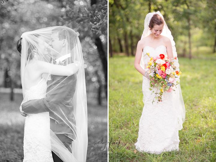 Oklahoma Wedding, Ely Fair Photography, colorful wedding flowers