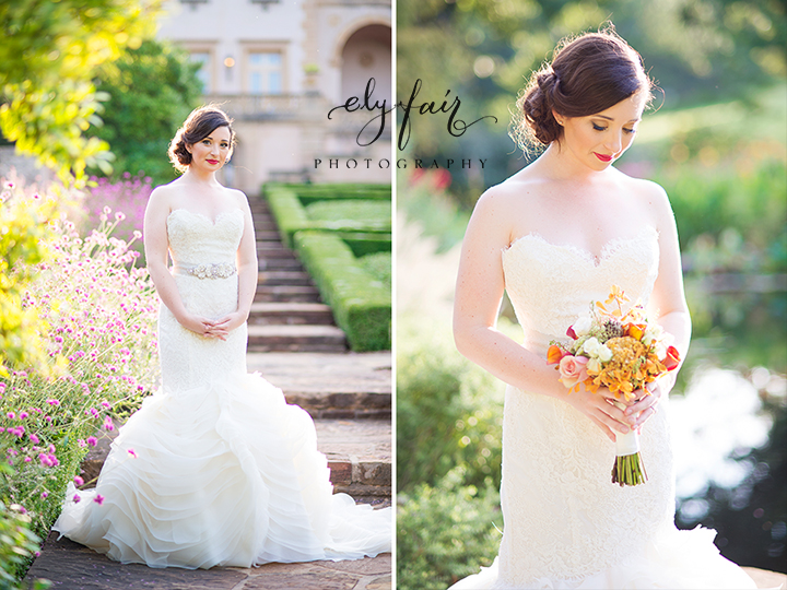 Oklahoma Bridals, Philbrook Museum, Ely Fair Photography