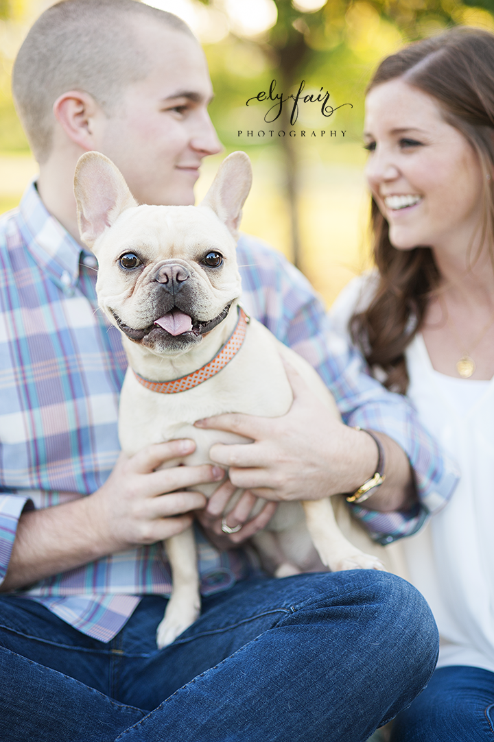 Tulsa Engagement Photos | Ely Fair Photography | Dog