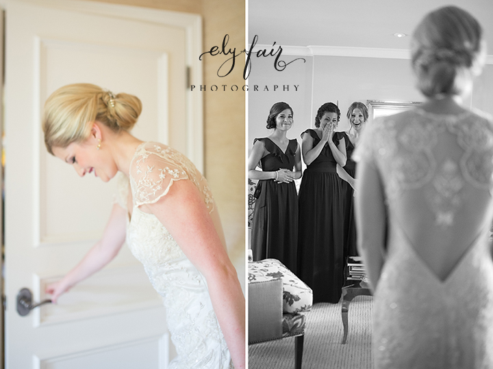 Southern Hills Wedding | Tulsa, Oklahoma | Ely Fair Photography | Claire Pettibone Dress