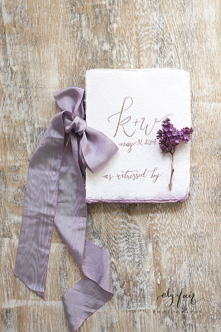 Ely Fair Photography | Birdie Blooms | Calligraphy Guest Book