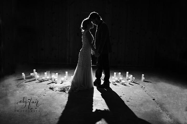Ely Fair Photography | Birdie Blooms | Rustic Farmhouse Wedding | Oklahoma | Candlelight Dance
