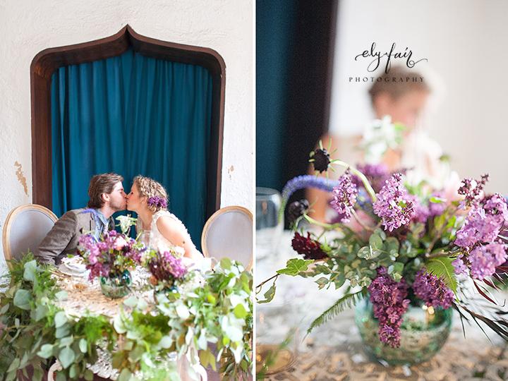 Ely Fair Photography | Birdie Blooms | Bride & Groom Table