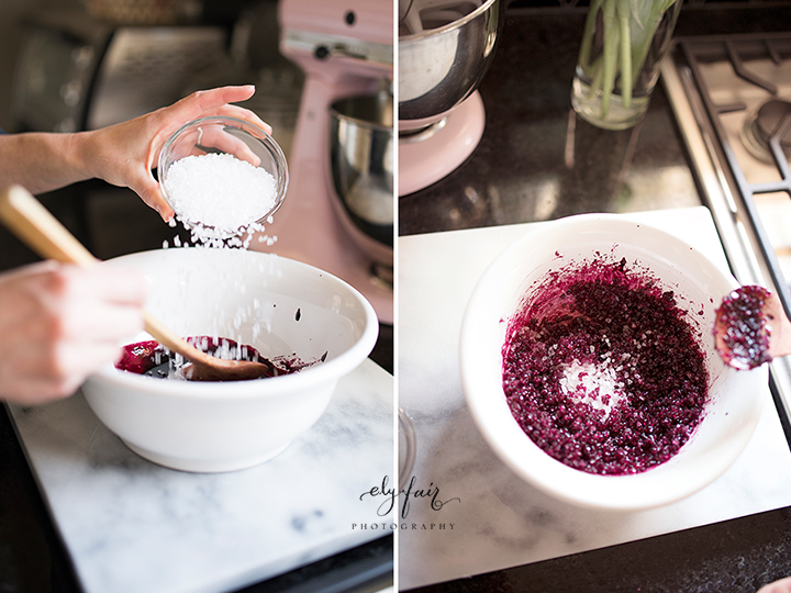 Red Wine Sea Salt Tutorial