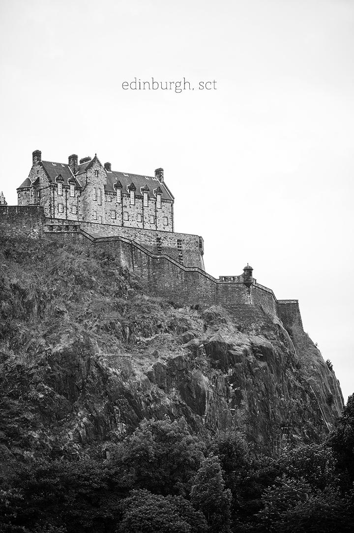 Edinburgh, Scotland Castle