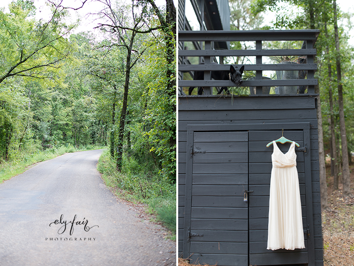 Ely Fair Photography | Forrest Wedding | Beaver's Bend, Oklahoma | Nature House
