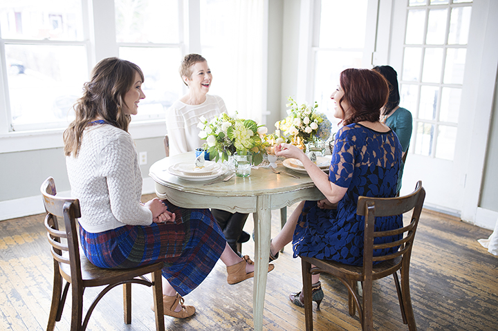 Blue Egg Brunch Bridal Luncheon | Ely Fair Photography | Florals & Styling: Juniper Designs | Cuppies and Joe