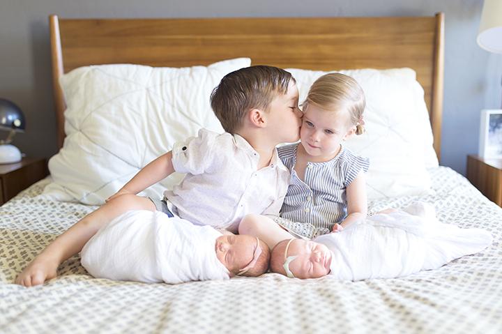 Twin Newborns | Ely Fair Photography | Love Well Handmade