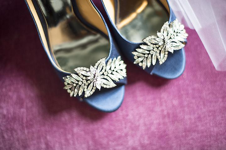 Dresser Mansion, Tulsa Oklahoma Wedding | Ely Fair Photography© | Blue Wedding Shoes