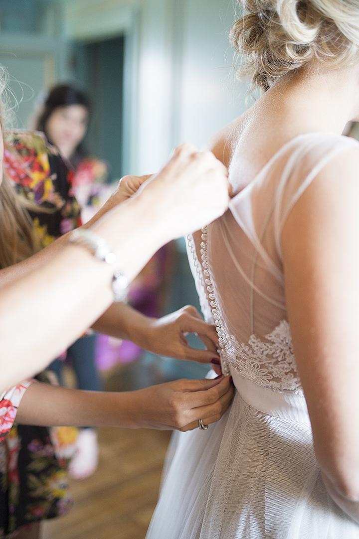 Dresser Mansion, Tulsa Oklahoma Wedding | Ely Fair Photography© | Dress by Watters