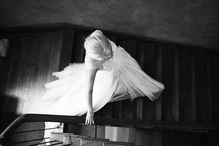 Dresser Mansion, Tulsa Oklahoma Wedding | Ely Fair Photography© | Dress by Watters | First Look
