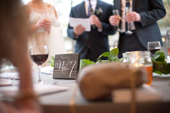 Dresser Mansion, Tulsa Oklahoma Wedding | Ely Fair Photography© | Table Numbers