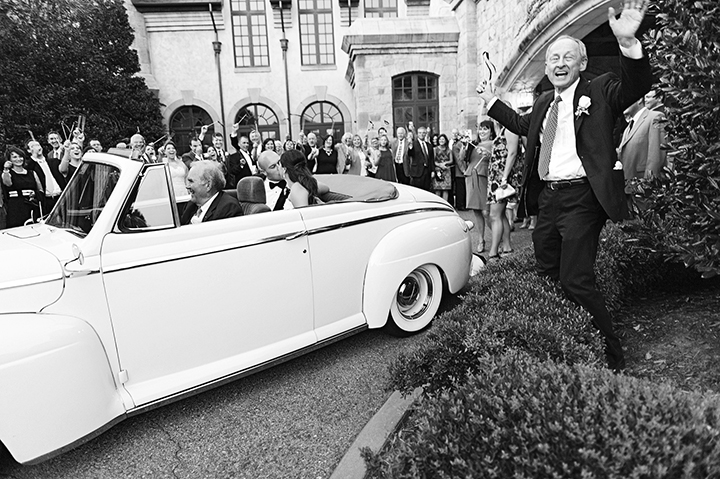 Vintage Car Send Off | Ely Fair Photography | Gaillardia Country Club