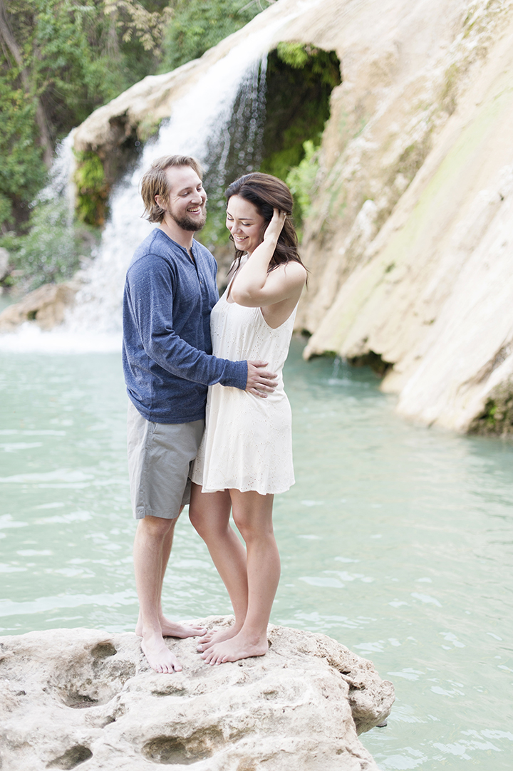 Turner Falls Engagements | Ely Fair Photography | Oklahoma Photographer