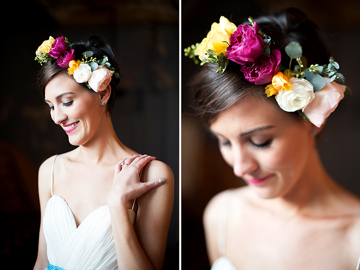 Ely Fair Photography | Travel Photographers based in Oklahoma | Fiesta Wedding | Colorful Floral Crown