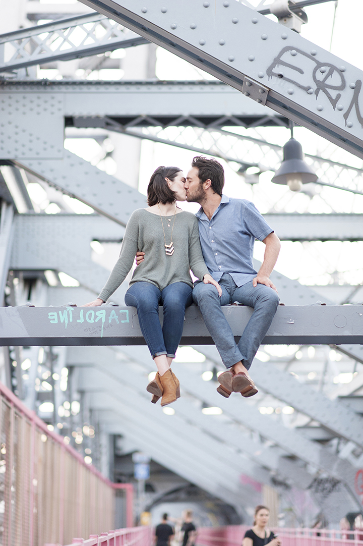 Engagement Photos |NYC Jay Z Bridge | Ely Fair Photography