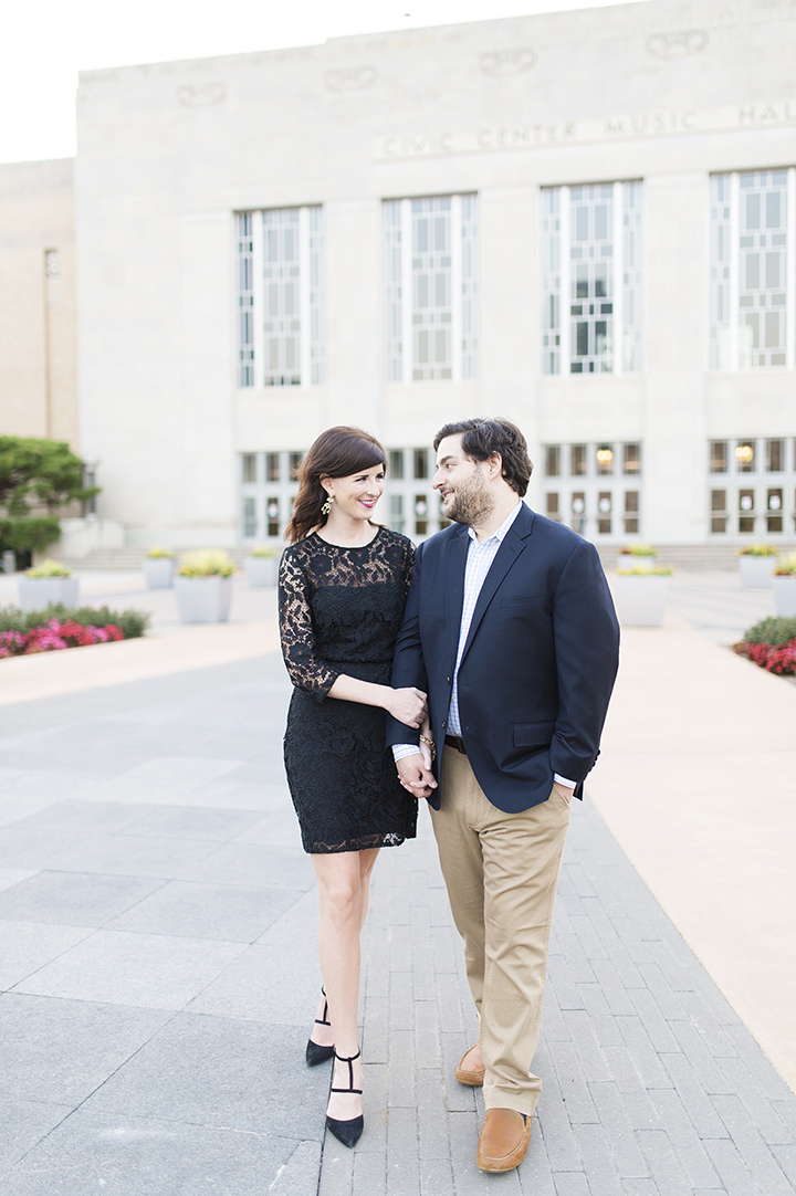 Downtown Oklahoma City Engagements | Ely Fair Photography