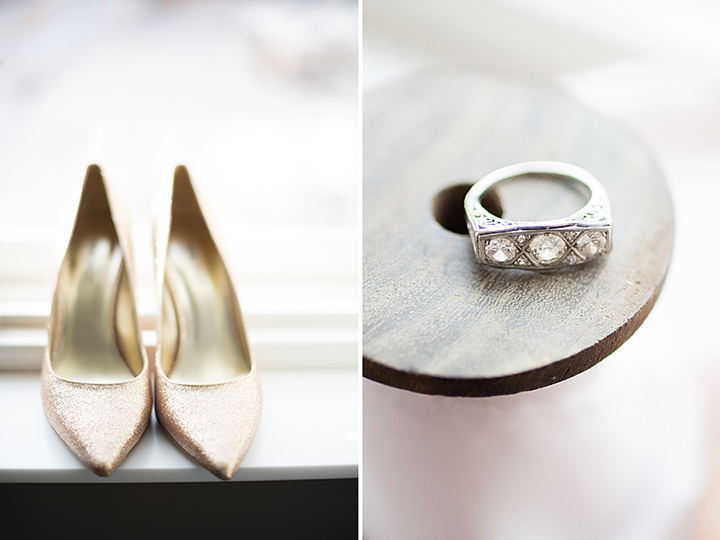 Ely Fair Photography | Oklahoma Wedding | Gold Wedding Shoes